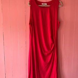Michael Kors asymmetrical knee length summer dress
